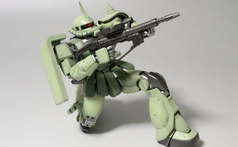 MG ザクⅡ 完成