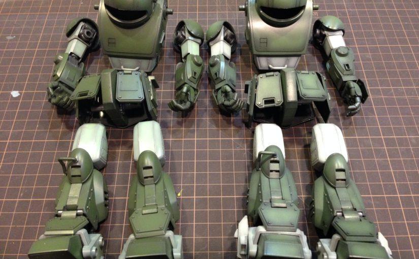装甲騎兵ボトムズ 1/20 スコープドッグシリーズ