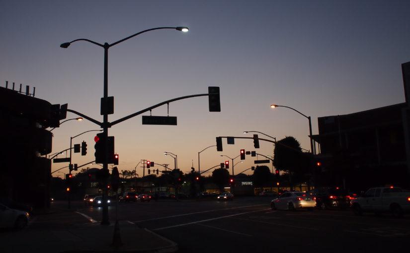 初Los Angeles上陸